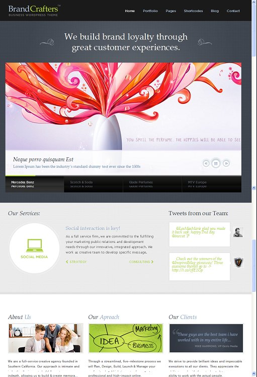 ThemeFuse Brand Crafters WordPress Theme