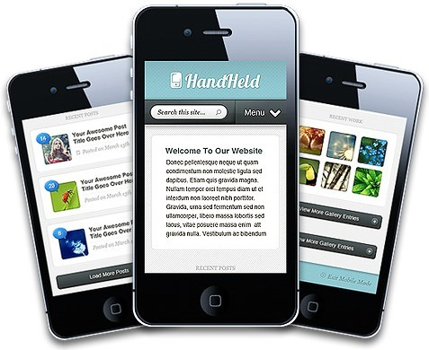 HandHeld Mobile Friendly WordPress Theme From Elegant Themes
