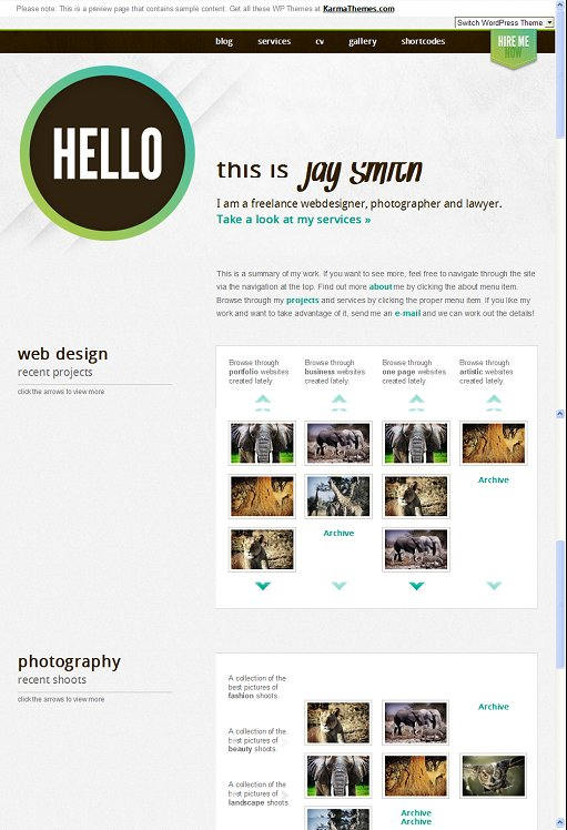 KarmaThemes Jay WordPress Theme