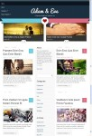 ColorLabs Adam & Eve WordPress Theme For Valentine Blog