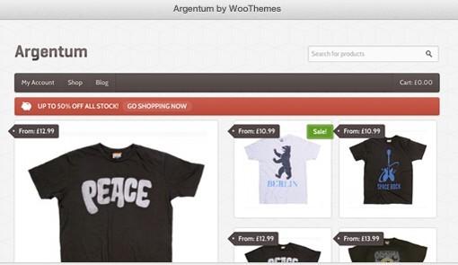 Argentum WooCommerce theme