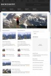 StudioPress Backcountry WordPress Theme For Outdoor Lifestyle News