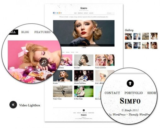 Themify Simfo WordPress Minimal Responsive Theme