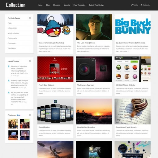 Theme Junkie Collection WordPress Theme