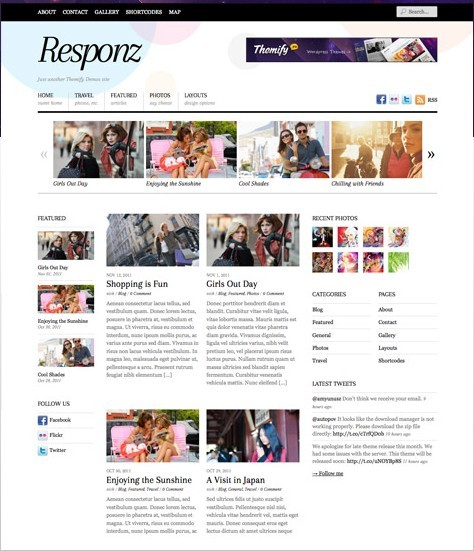 Themify Responz News Responsive WordPress Theme