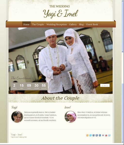 ThemeWarrior The Wedding WordPress Theme