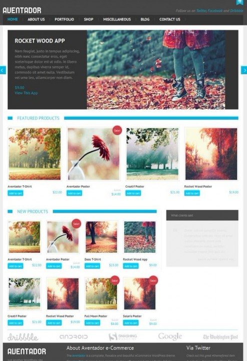 WPCrown Aventador WordPress eCommerce Theme