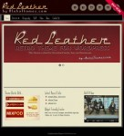 Aloha Themes Red Leather Retro WordPress Theme For Retro Businesses