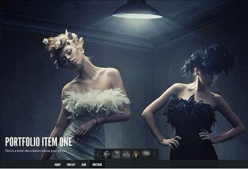 Elegant Themes Gleam WordPress Theme With Full-screen Portfolio