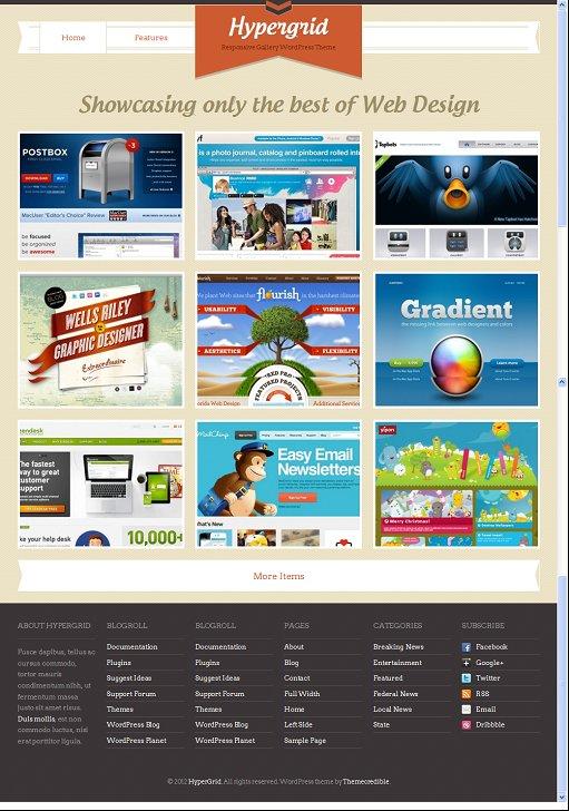 Themecredible HyperGrid Premium Responsive Gallery WordPress Theme