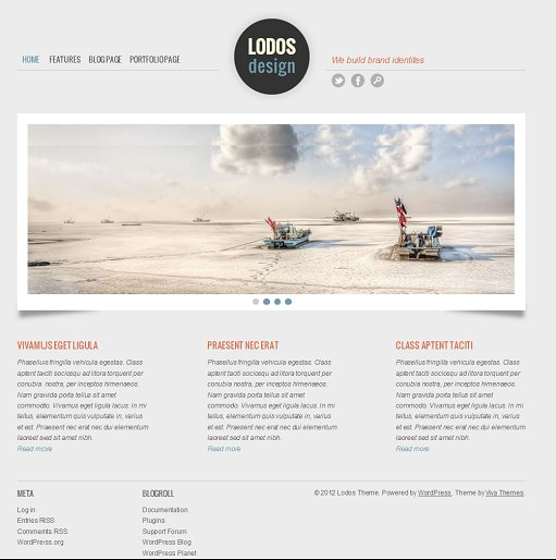 Viva Themes Lodos Portfolio Theme For WordPress