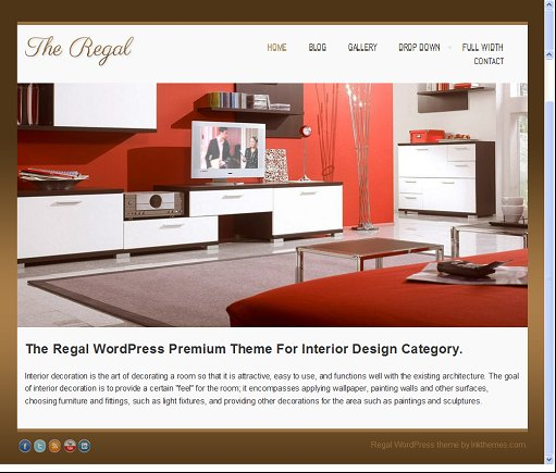 InkThemes Regal Responsive Multipurpose WordPress Theme