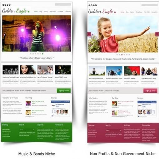 InkThemes Golden Eagle Responsive Business WordPress Theme