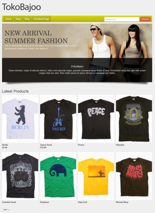 Tokokoo TokoBajoo WooCommerce Theme For WP Apparel Fashion Store