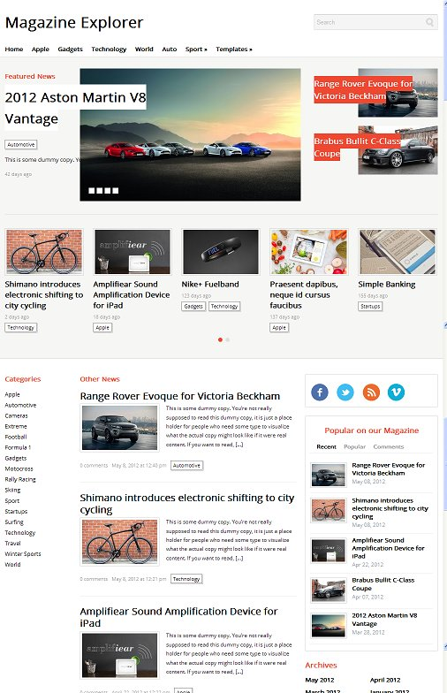 WPZOOM Magazine Explorer WordPress Theme Review And Download