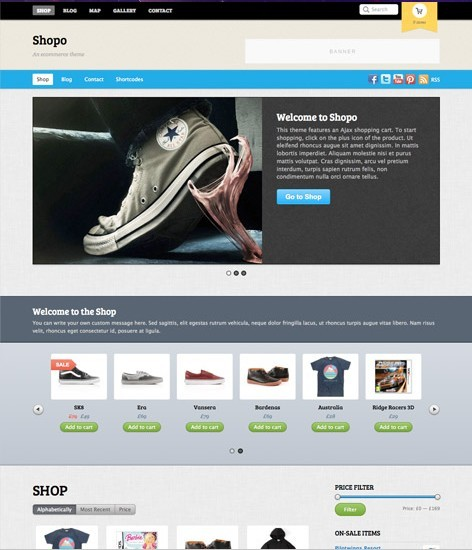 Themify Shopo Responsive Ecommerce Theme
