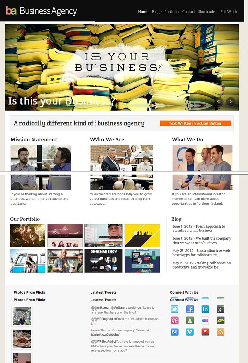 Magazine3 BusinessAgency WordPress Theme
