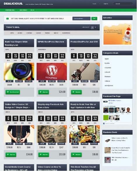 Tokokoo Dealicious WordPress Deals Site Theme
