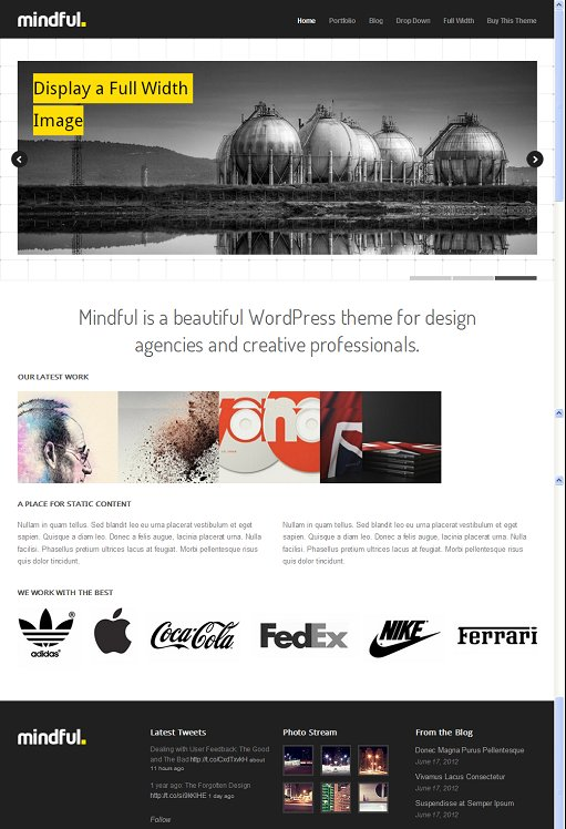 ThemeTrust Mindful Beautiful Responsive WordPress Theme For Creatives