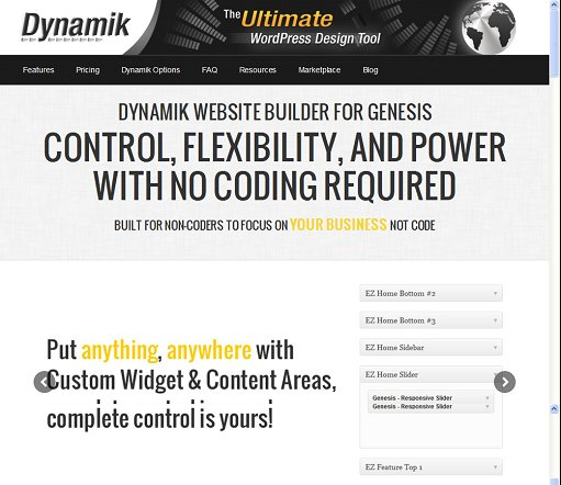 Dynamik Website Builder - Take Control Of Your Website With Genesis