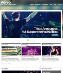 CSSIgniter StereoSquared Responsive Music Theme For WordPress