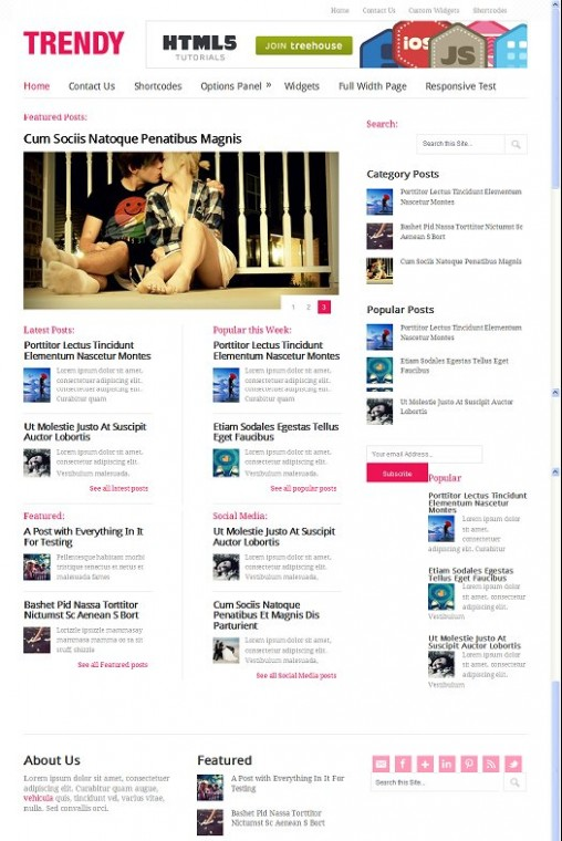 Trendy Lifestyle Magazine WordPress Theme From MyThemeShop