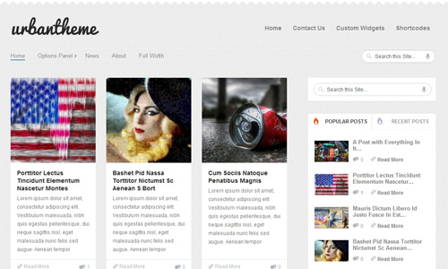 Urban WordPress Grid-Style Magazine Theme From MyThemeShop