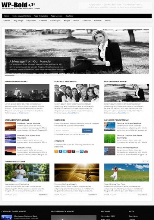 WP-Bold Solostream WordPress Theme For Responsive Magazine