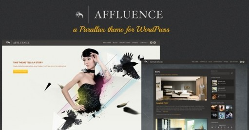 ThemeSumo Affluence 3D Supported Fullscreen WordPress Theme