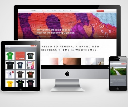 WooThemes Athena WordPress Theme 30% Coupon