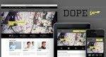 Dope Responsive WordPress Portfolio Theme By Designer Themes