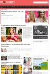 Magazine3 Fit&Healthy WordPress Health & Fitness Blogging Theme
