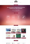CSSIgniter Mustache Responsive One Page Portfolio Theme For WordPress