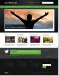 Outreach 2.0 Child Responsive WordPress Theme From StudioPress