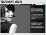 Responsive Visual Organized WordPress Theme For Showcase