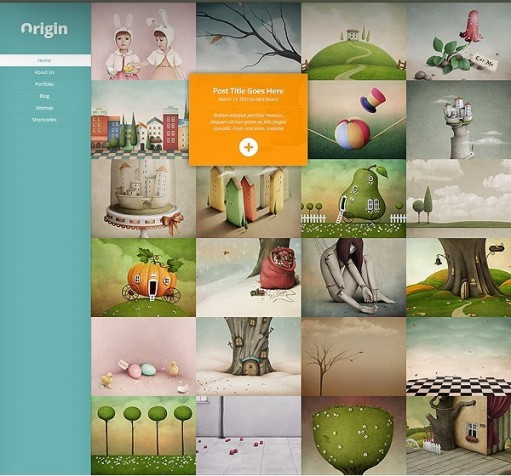 Elegant Themes Origin Responsive Stunning Grid-Based WordPress Theme