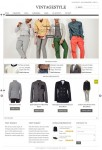 VintageStyle Responsive E-commerce WordPress Theme