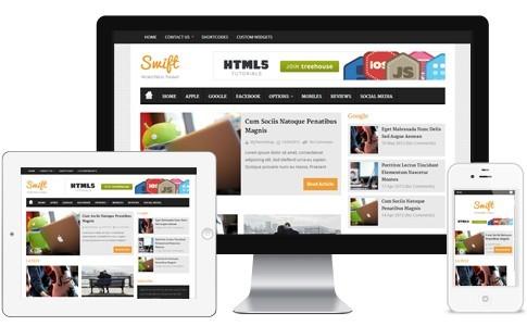 Swift Elegant Responsive Magazine WP Theme From MyThemeShop
