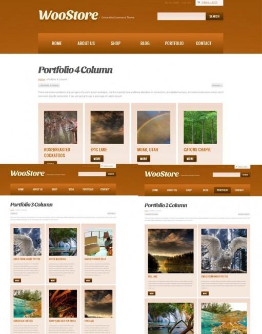 WPWebs WooStore Online Shopping Cart & Business Theme For WordPress