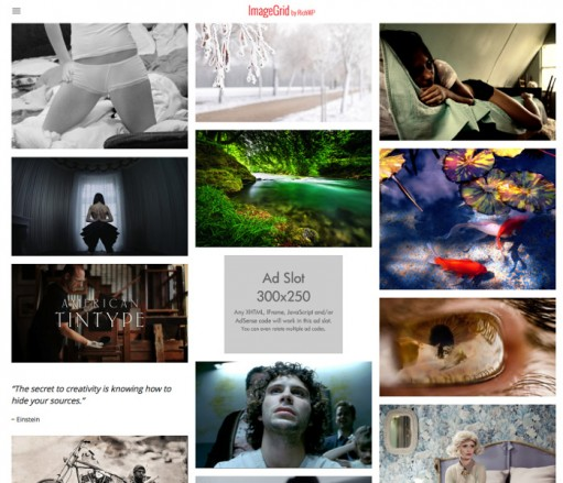 ImageGrid Responsive WordPress Gallery Grid Theme