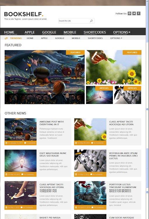 BookShelf Multipurpose WordPress Theme By MyThemeShop