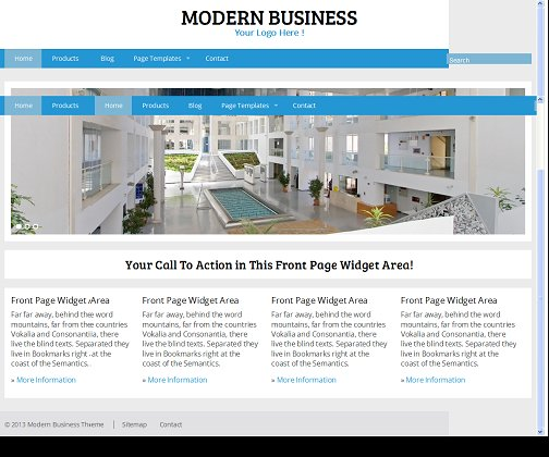 Modern Responsive WordPress Business Theme RichWP