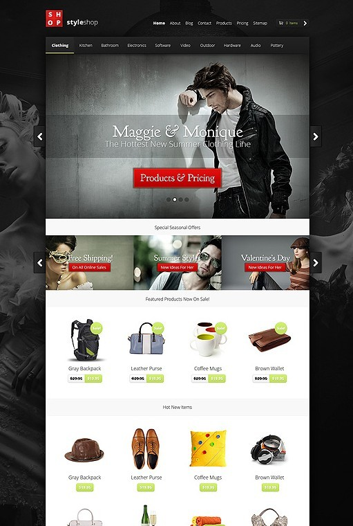 Elegant Themes StyleShop WordPress Theme For ECommerce