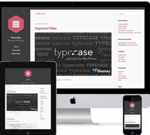 UPThemes Personality Responsive WordPress Theme