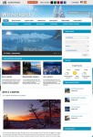 Winterland Gorilla Themes WordPress Travel Theme