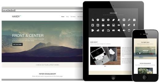 Hardy ThemeTrust Responsive Portfolio Theme For WordPress
