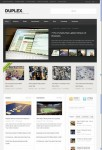ThemeZilla Duplex WordPress Content Theme For Magazines Blogs