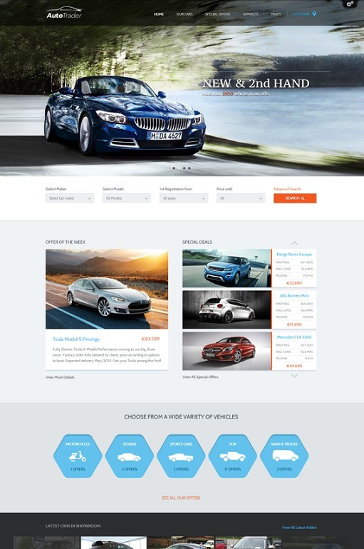 AutoTrader Car Marketplace WordPress Theme Review – ThemeFuse
