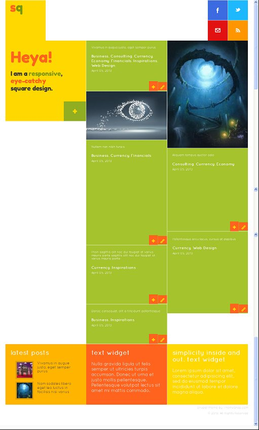 SQ: Square Metro Drupal Premium Theme Review - ThemeSnap