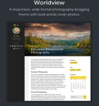 Worldview WordPress Theme – Responsive Multi-Purpose Blogging Theme